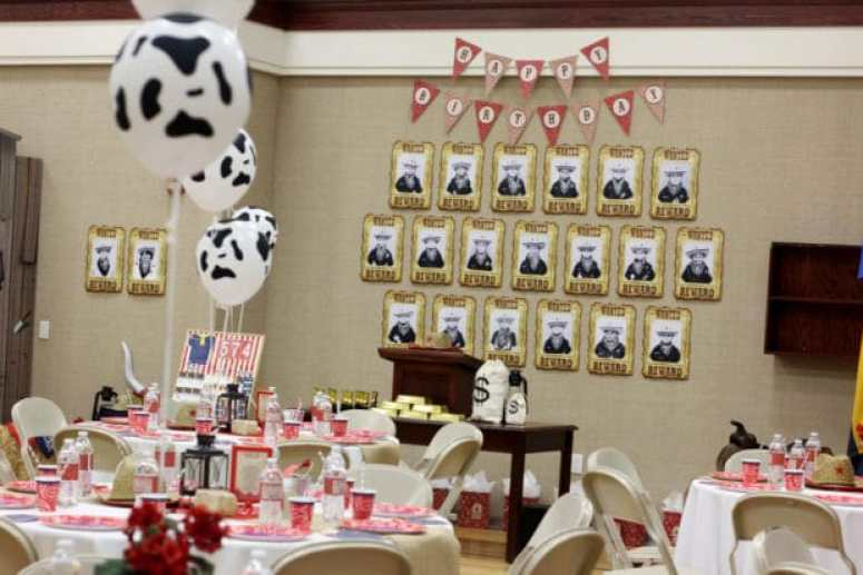 Western Themed Birthday Party