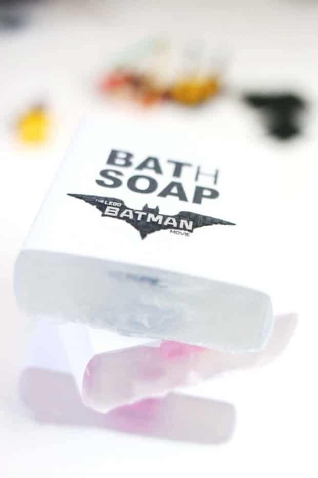 LEGO Bath Soap Party Favor