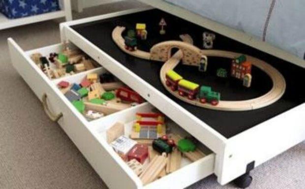 10 Clever Kids Toy Storage Ideas