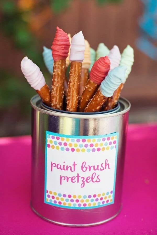 Paintbrush Pretzles