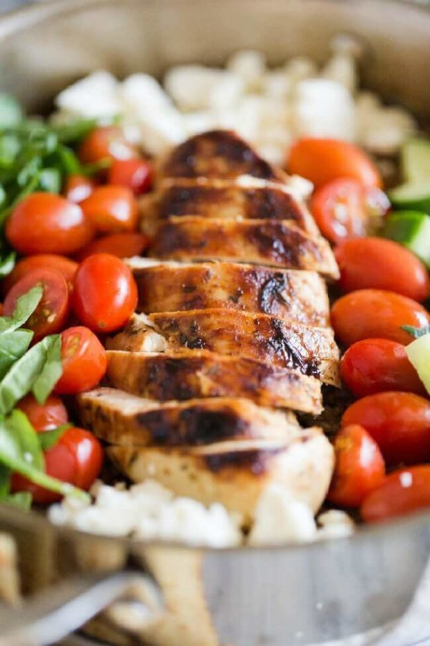 Easy Greek Chicken Dinner