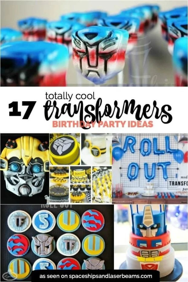 20 transformers birthday party ideas we