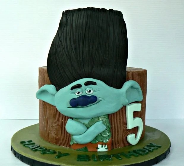 Grumpy Trolls Cake