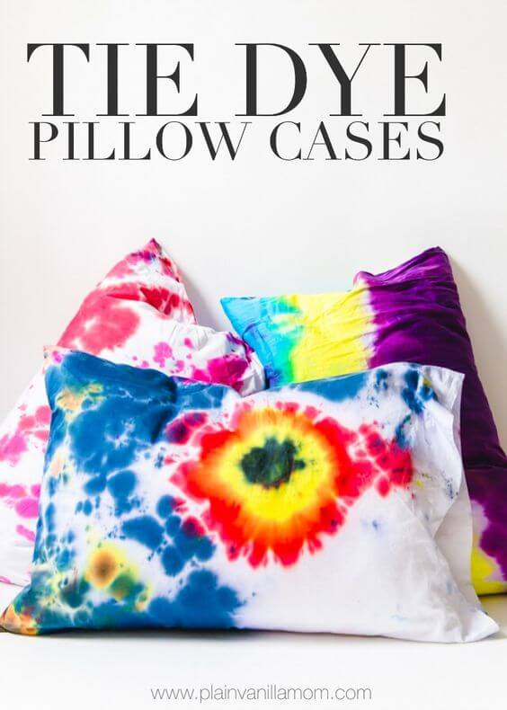 Tie Dye Pillow Cases