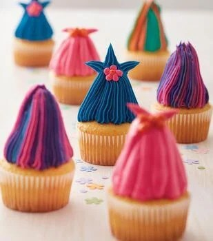 Crazy Haired Cupcakes Tutorial