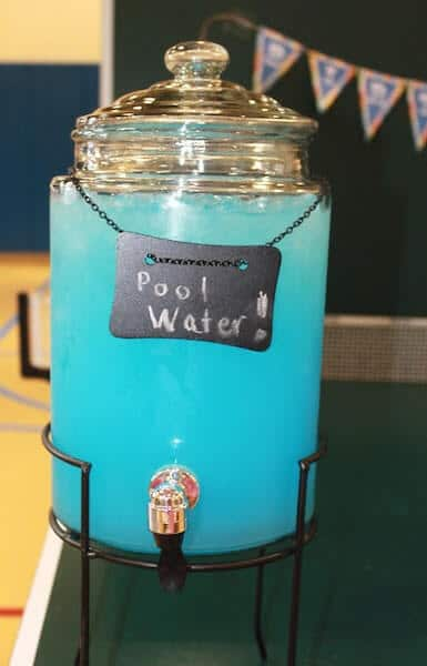 Pool Party Beverage Idea
