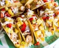 Shrimp and Chicken Tacos
