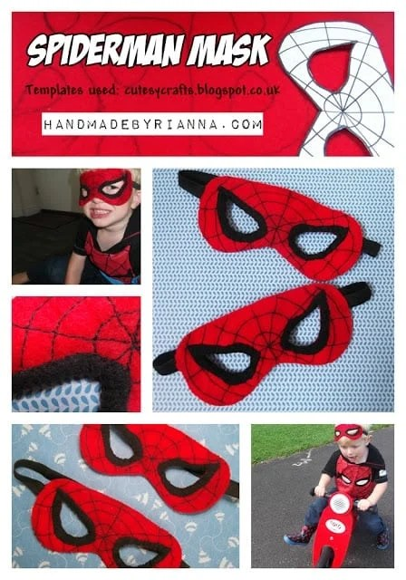 DIY Spiderman Mask