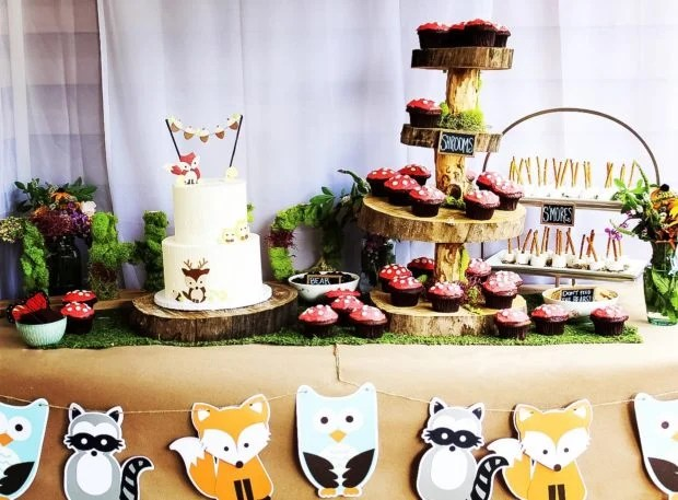 Woodland Friends Birthday party