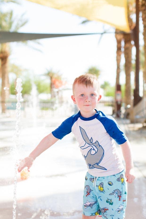 Family Time at Splash Pad
