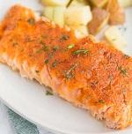 Brown Sugar Baked Salmon