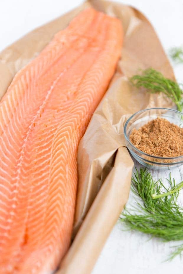 instructions on how to bake salmon