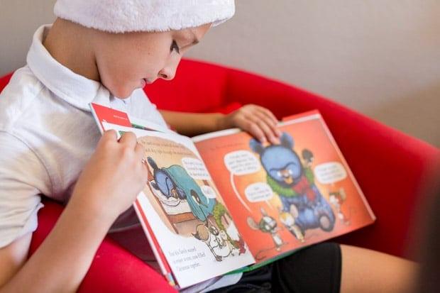Reading Santa Bruce