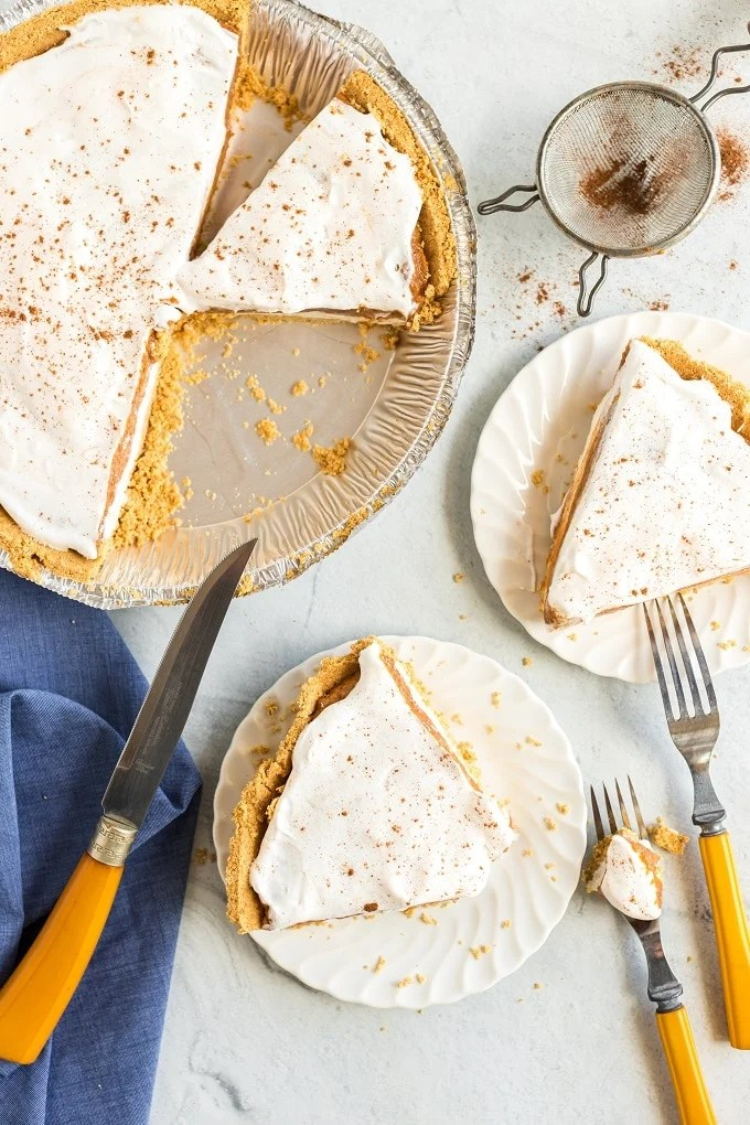 Favorite No Bake Pumpkin Pie