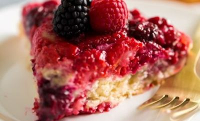Best Berry Upside Down Cake
