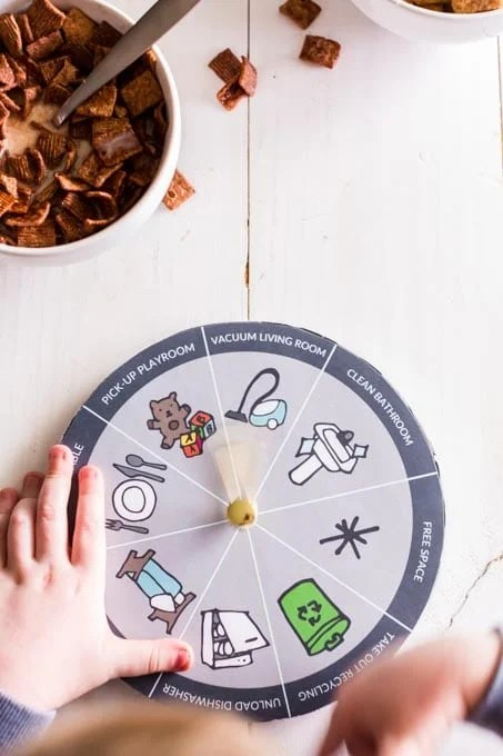 Easy Chore Chart