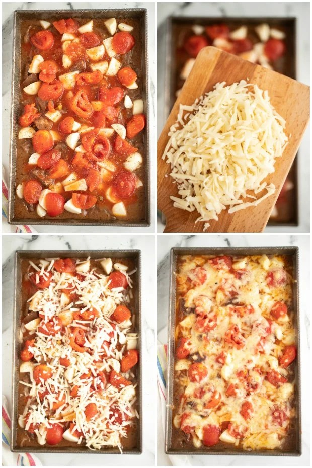 steps for making beef stew in the oven