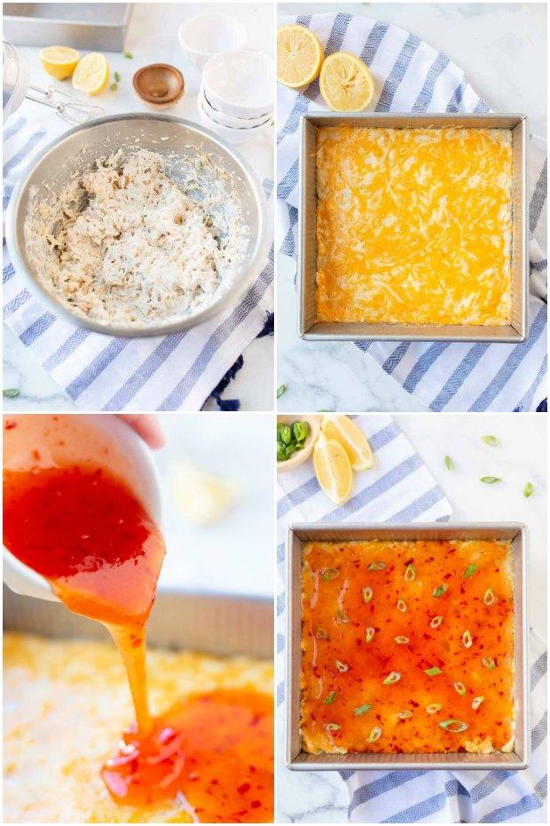 steps for making crab ragoon dip