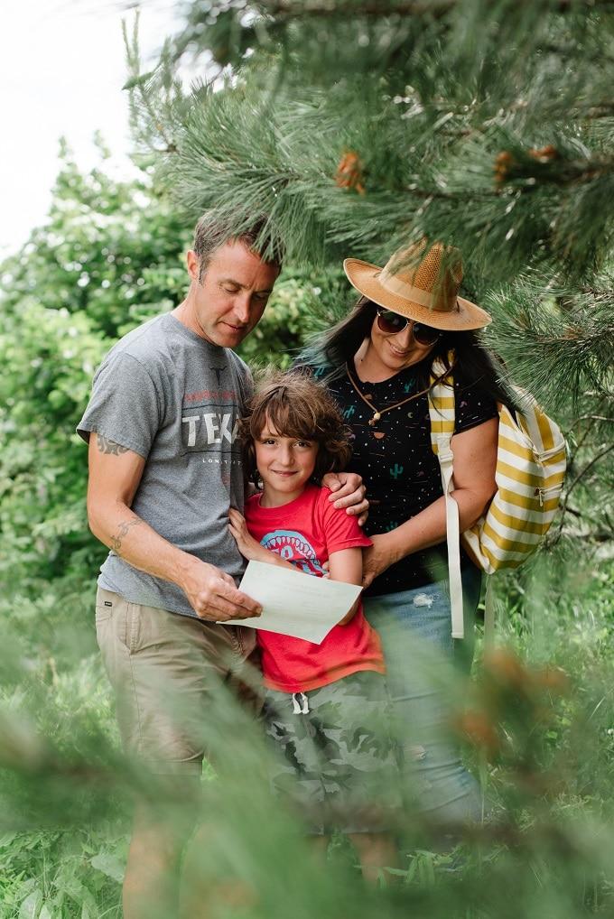 Family Outdoor Scavenger Hunt