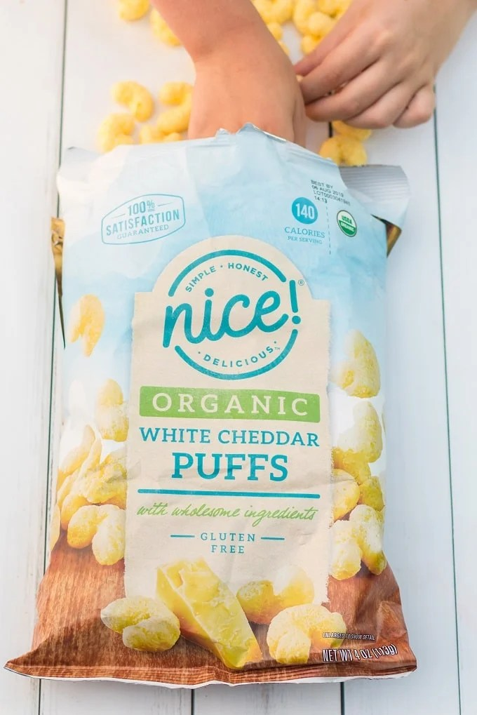 Nice! Organic White Cheddar Puffs