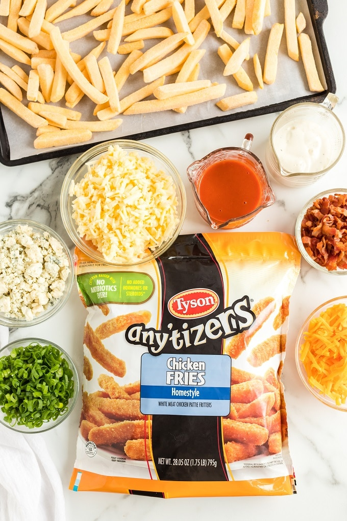Buffalo Chicken Fries Ingredients