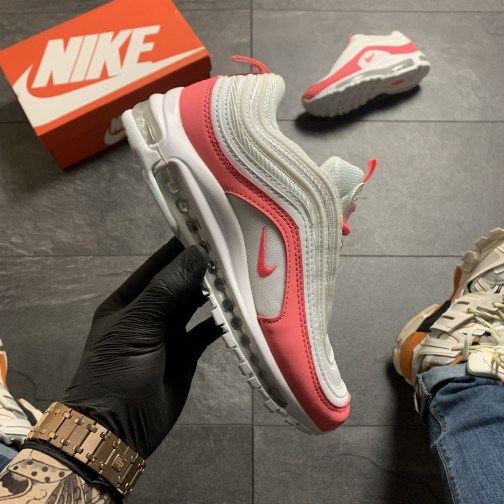 Женские кроссовки Nike Air Max 97 White Red • Space Shop UA