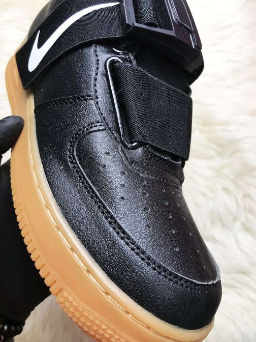 Мужские кроссовки Nike Air Force 1 Utility Black Gum • Space Shop UA