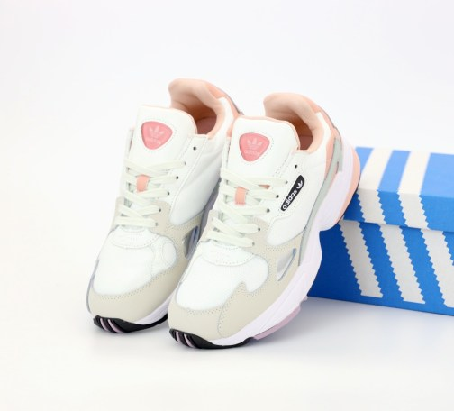 Adidas Falcon Pink and White