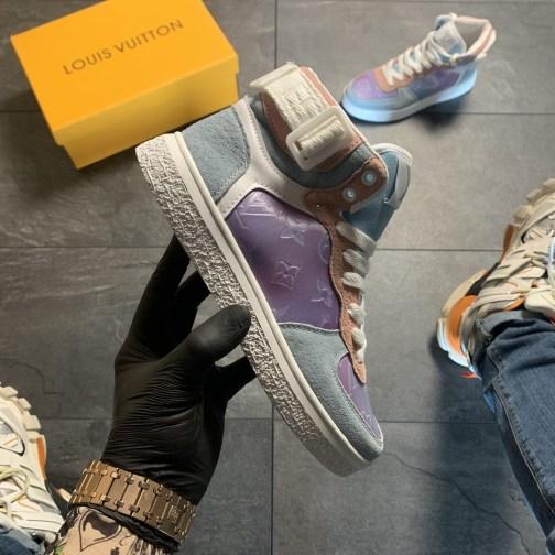 Женские кроссовки Louis Vuitton Boombox White Violet • Space Shop UA