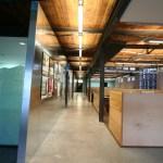 The main corridor where we display work in progress and art.