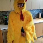 Tom's an eggstraordinarily good sport.