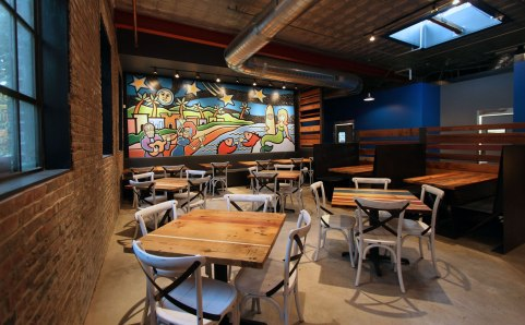 Mission Taco Soulard SPACE Architecture and Design Craig Downs mural skylight