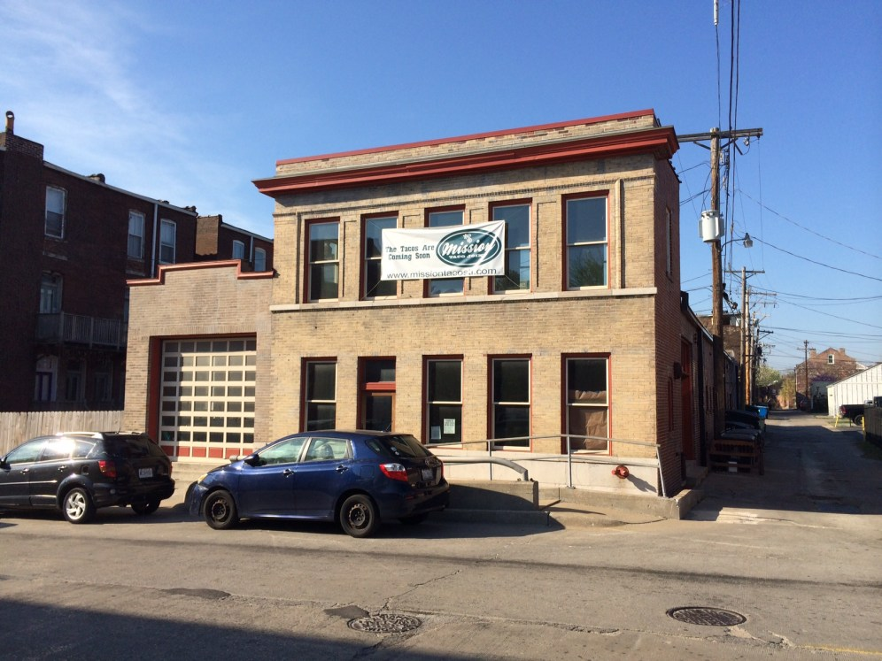 Mission Taco's new home in Soulard on Lafayette.