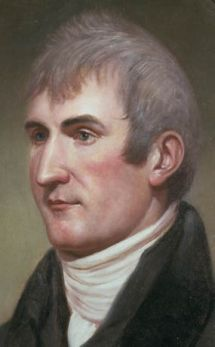 Meriwether Lewis was present during the Three Flags Ceremony on March 9, 1804. We included Lewis & Clark in the decor because they could not leave for their journey until the United States secured the Louisiana Territory, which was commemorated at the Three Flags Ceremony.