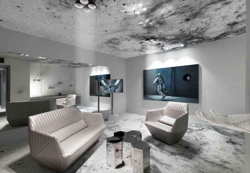 Space Themed Hotels: Kameha Grand Zurich Hotel