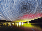 Aurora Over Lake Hawea, New Zealand - Paul Stewart via Flickr 2