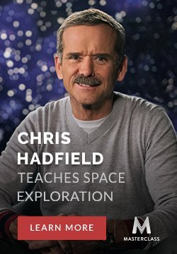 Chris Hadfield Masterclass Banner