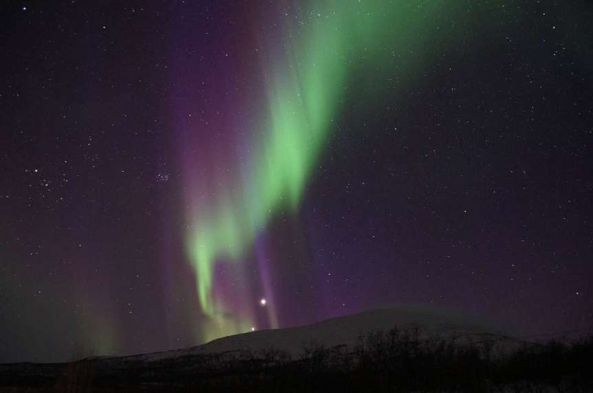 Northern Lights in Kiruna, Sweden