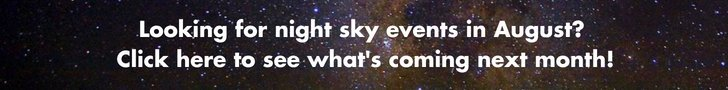August Night Sky Banner
