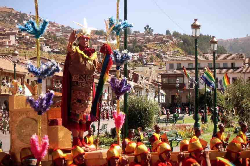 Inti Raymi Festival in Peru - Rainbowasi via Flickr