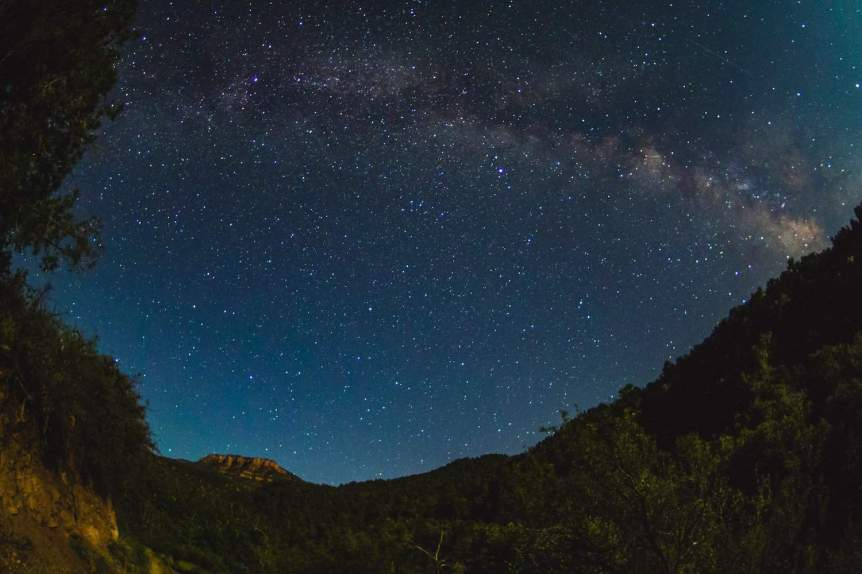 Milky Way in Arizona - Fossil Springs