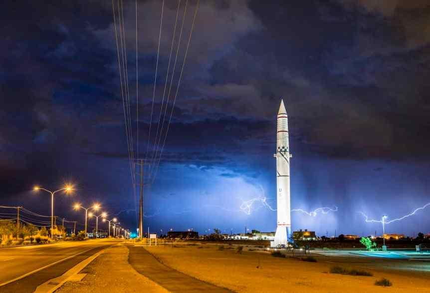 Stargazing in Albuquerque - Sandia Labs via Flickr