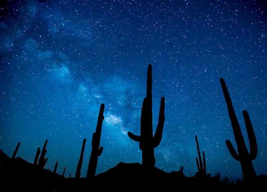 Stargazing in Arizona - Bureau of Land Management via Flickr