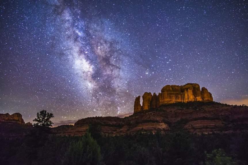 Stargazing near Phoenix - Cathedral Rock in Sedona