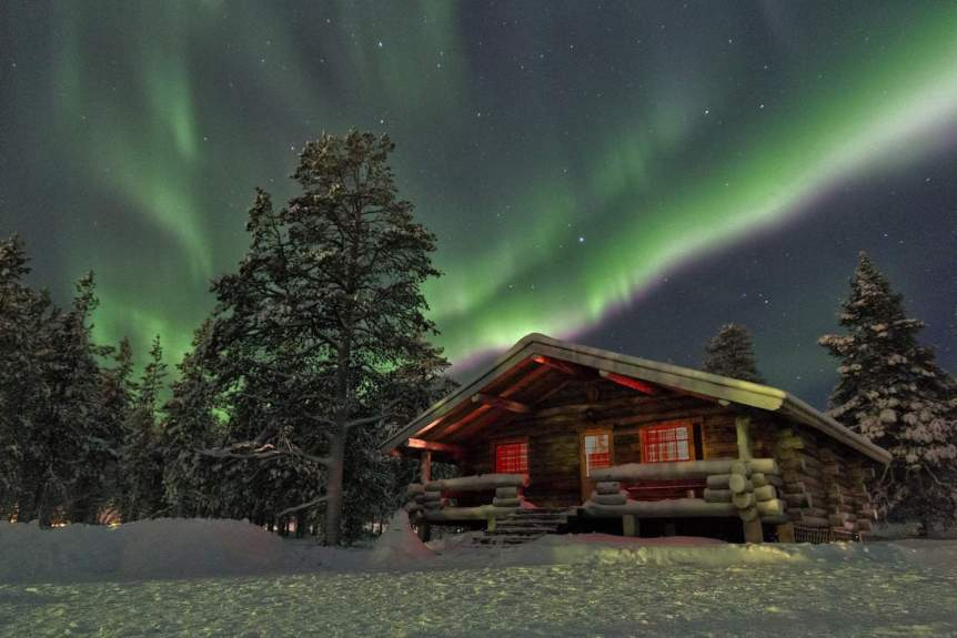 Northern Lights in Finland - Chris via Flickr