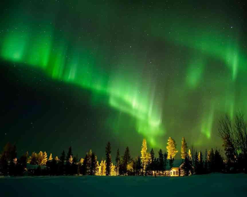 Northern Lights in Finland - Heikki Holstila via Flickr