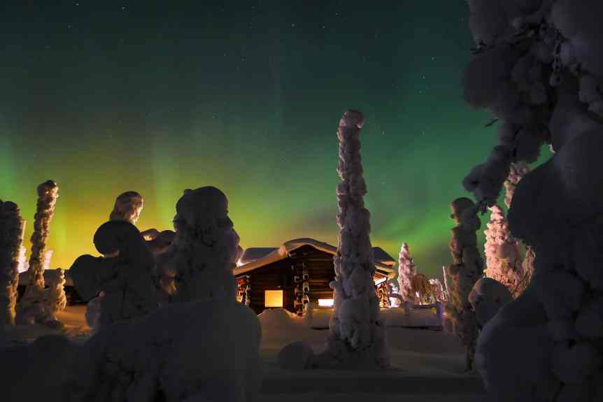 Northern Lights in Finland - Ruka - Timo Newton-Syms via Flickr