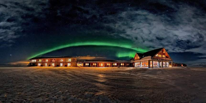 Northern Lights in Greenland - Hotel Ranga - Greenland Travel via Flickr