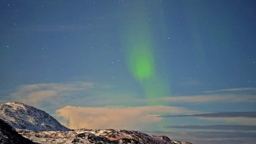 Northern Lights in Norway - Svalbard