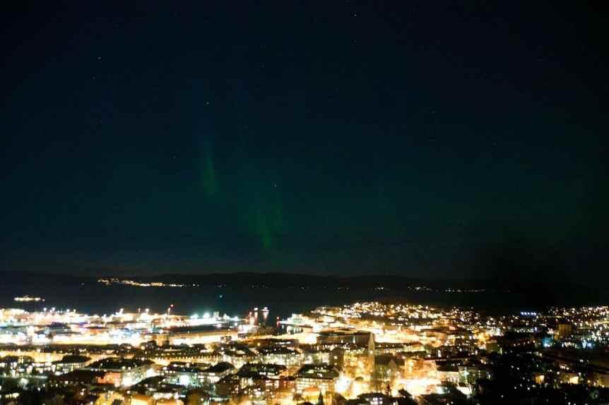 Northern Lights in Norway - Trondheim